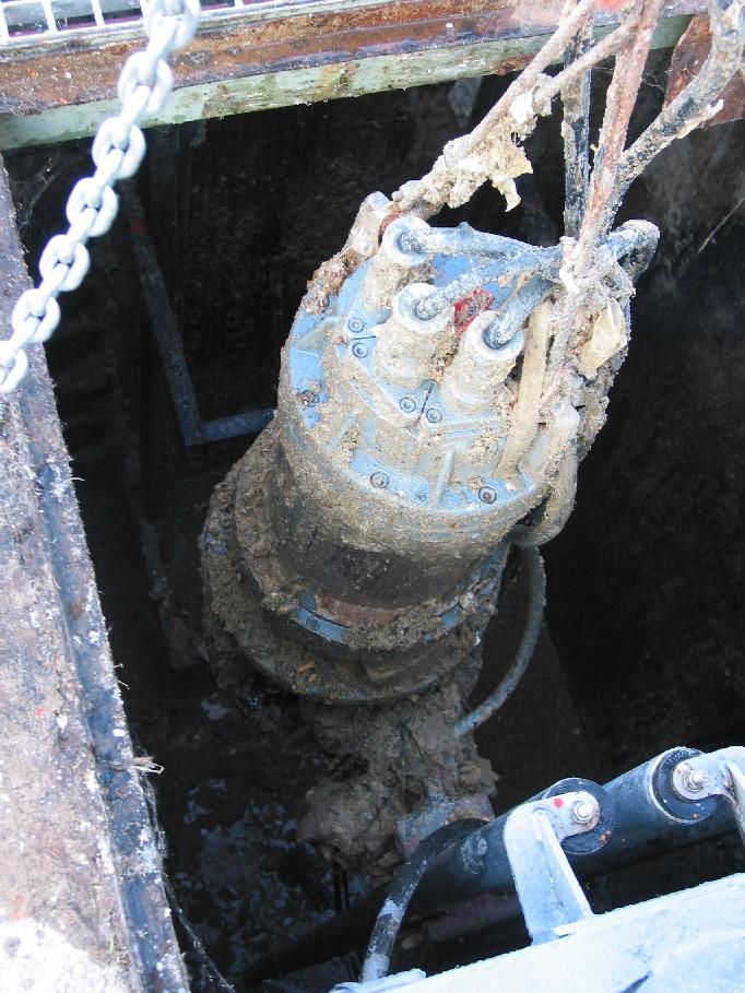 Bomba aguas residuales