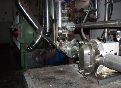 Bomba para bombeo acetato celulosa