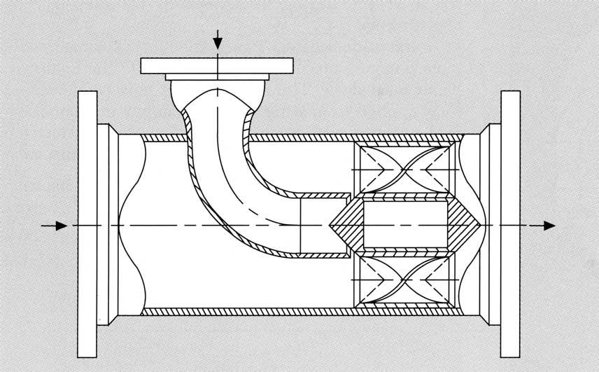 Inyector vapor komax