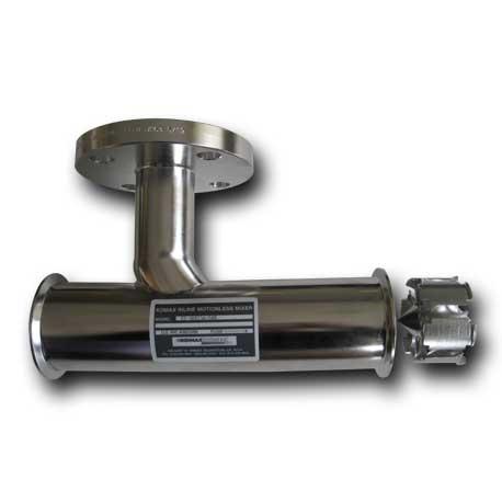 Inyector de vapor komax