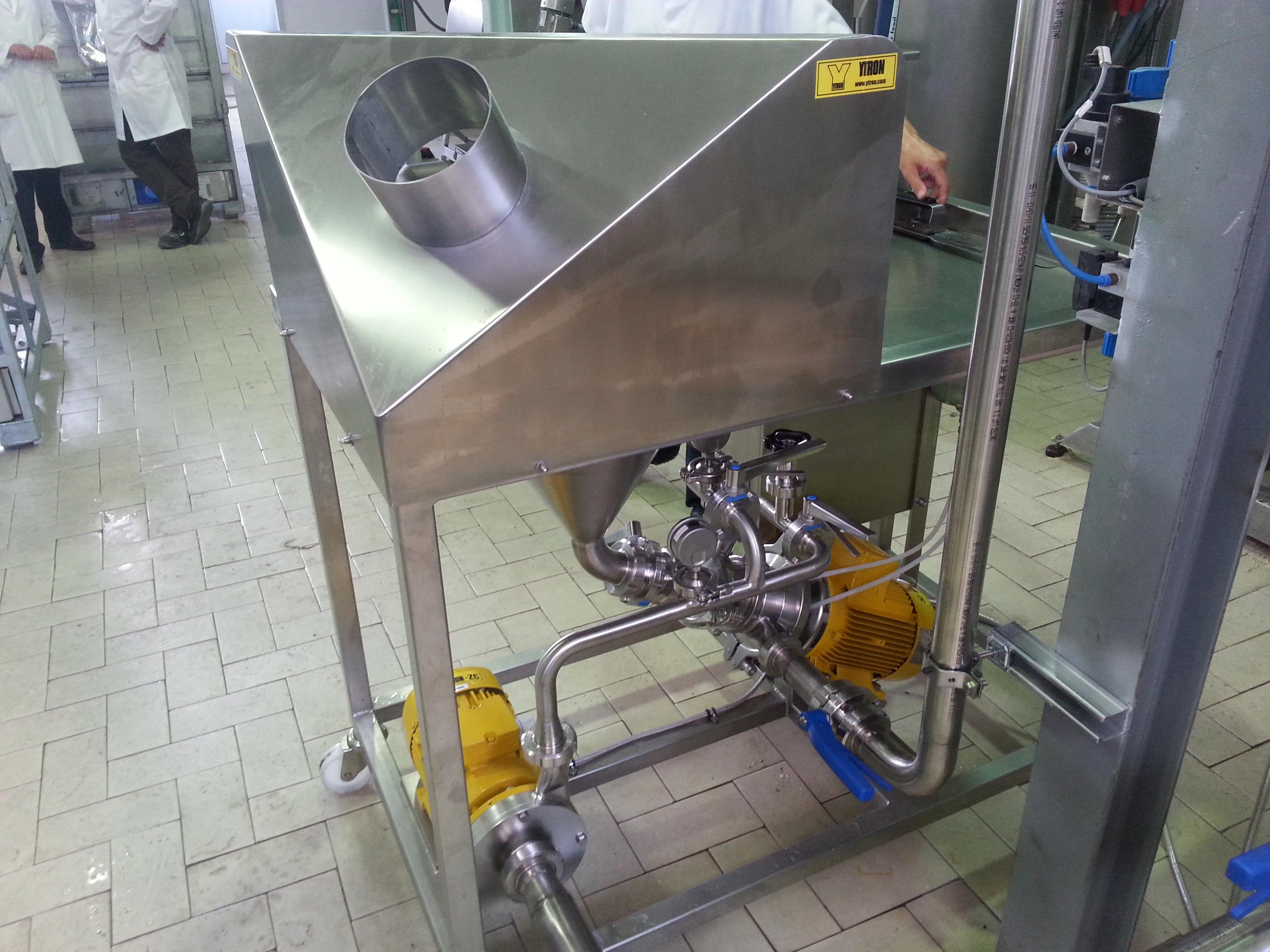 Equipo Industria láctea