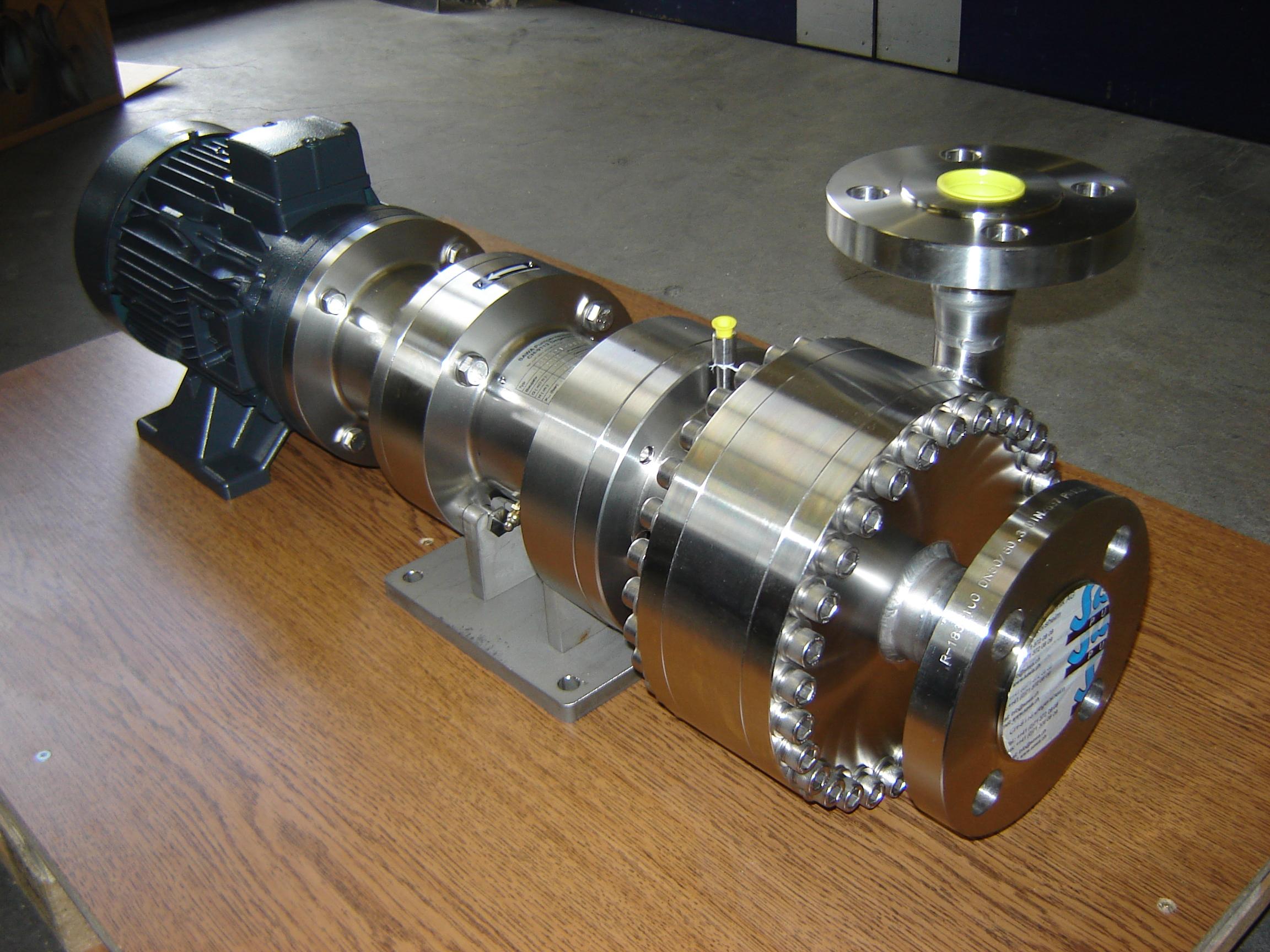 Distribución de bombas de alta presión